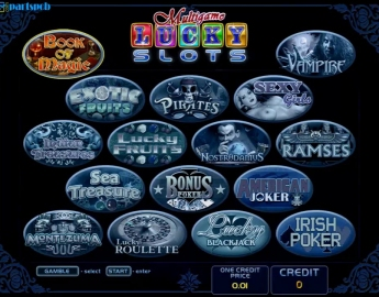 16in1 Lucky Slots Multigame