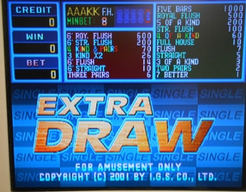 Extra Draw Poker By IGS