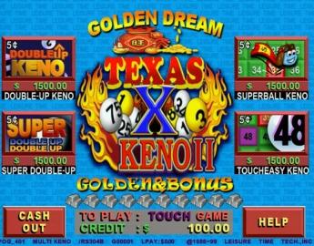 Texas Keno II POG