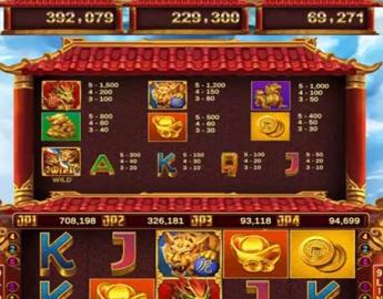 Dragon VS Tiger 9 Liner Vertical